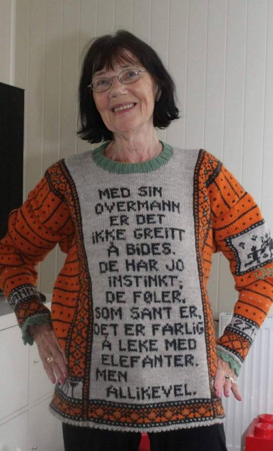 Hele Norge strikker Peer Gynt