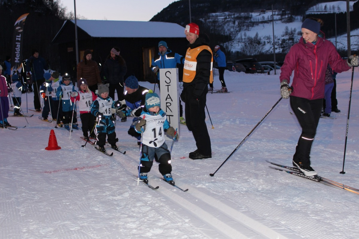 a4c7867b www.meldal.no - Eline og Martin fikk napp i hver sin vandrepokal